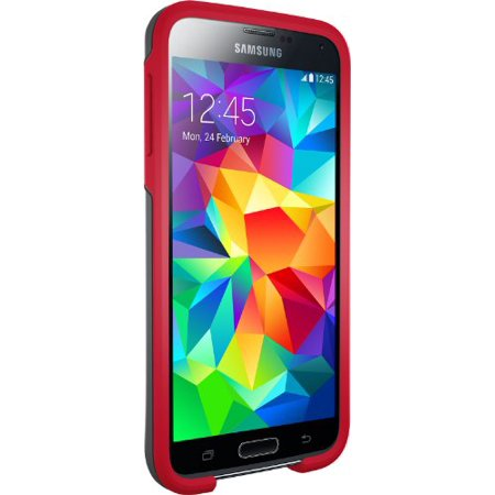 Otter Box Symmetery Commuter Series Samsung Galaxy S5 Cell Phone Case - Red ()