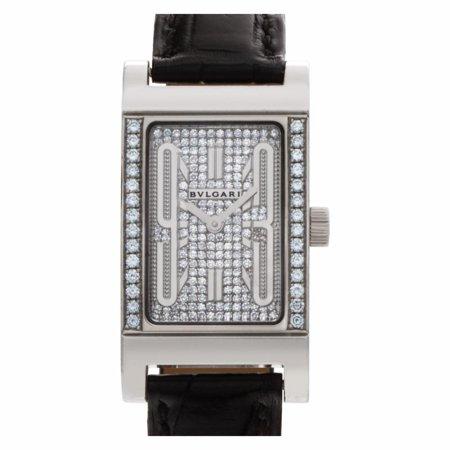 Pre-Owned  Rettangolo  Gold Women Watch (Certified Authentic & Warranty) - Bvlgari RT W39 G
