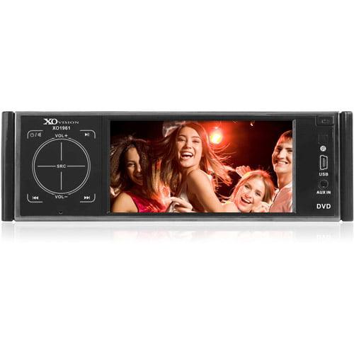 """XO Vision 4.2"""" Fully Detachable Widescreen DVD Receiver"""