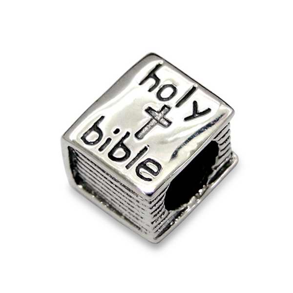 Necklace-Silver Bead Bible