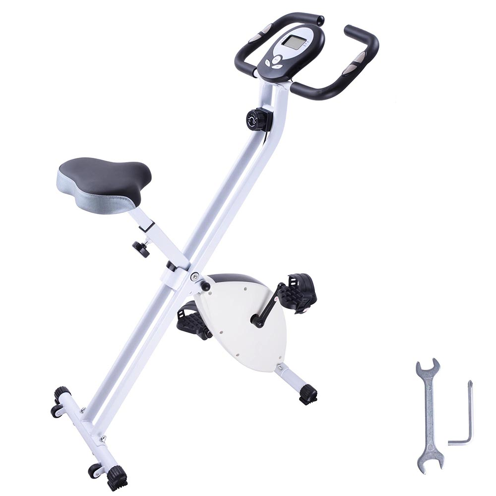 GHP 8-Step Resistance Adjustment 220Lbs Capacity White Ex...