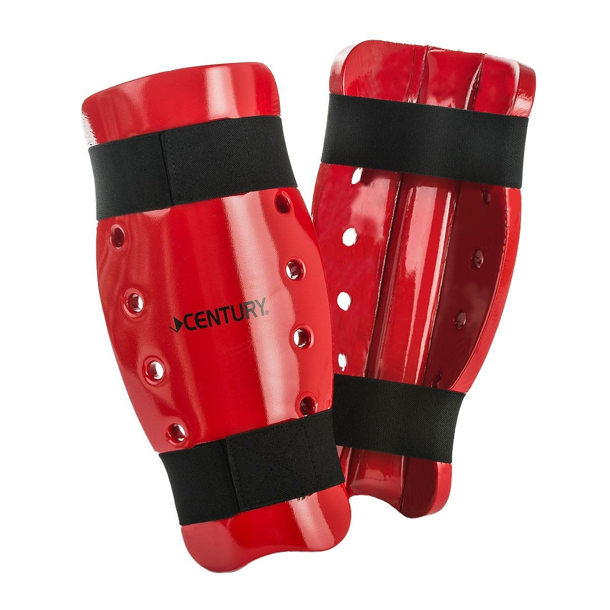 Century Kid's Martial Arts Student Sparring Shin Guards - White
