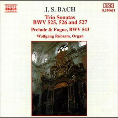 BACH: TRIO SONATAS NOS. 1, 2 & 3; PRELUDE & FUGUE IN A MINOR, BWV