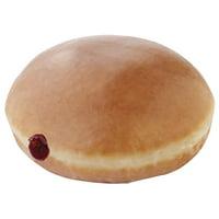 Krispy Kreme Glazed Raspberry Filled Doughnut