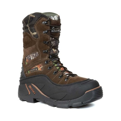 Rocky Men's Brown & Camo BlizzardStalker PRO Waterproof 1200G I FQ0005452MEN 9 M