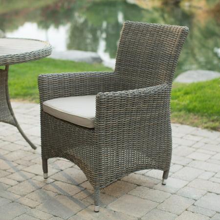 wicker patio dining chairs. Belham Living Bella All Weather Wicker Patio Dining Chair - Set Of 2 Chairs T