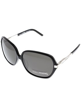 07220ff04de6 Product Image Gianfranco Ferre Sunglasses Womens GF910 01 Black Silver  Swarovski Elements Rectangular Size  Lens
