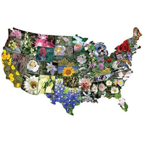 Aquarius Official State Flower Jigsaw Puzzle