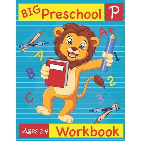 Halloween Activities For Kindergartens (Big Preschool Workbook Ages 2-4: Preschool Activity Book for Kindergarten Readiness Alphabet Numbers Counting Matching Tracing Fine Motor)