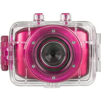 Vivitar HD Waterproof Action Camera (Pink)