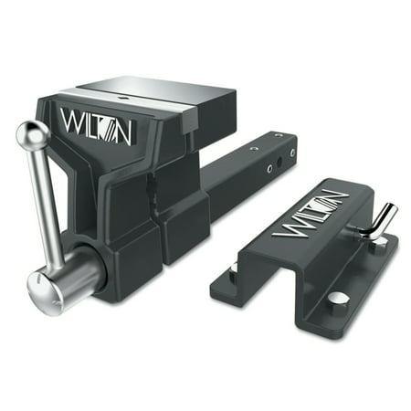 - Wilton ATV All-Terrain Vise, 6 in Jaw, 5 in Throat, Stationary Base