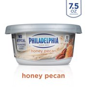 Philadelphia Honey Pecan Cream Cheese Spread, 7.5 oz. Tub
