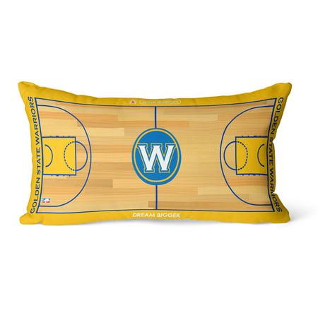 Golden State Warriors 30'' x 15'' Lumbar Pillow - 30