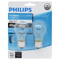 Philips A15 Incandescent Appliance Light Bulb