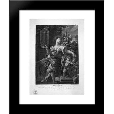 Jupiter And Antiope Palma 20X24 Framed Art Print By Piranesi  Giovanni Battista