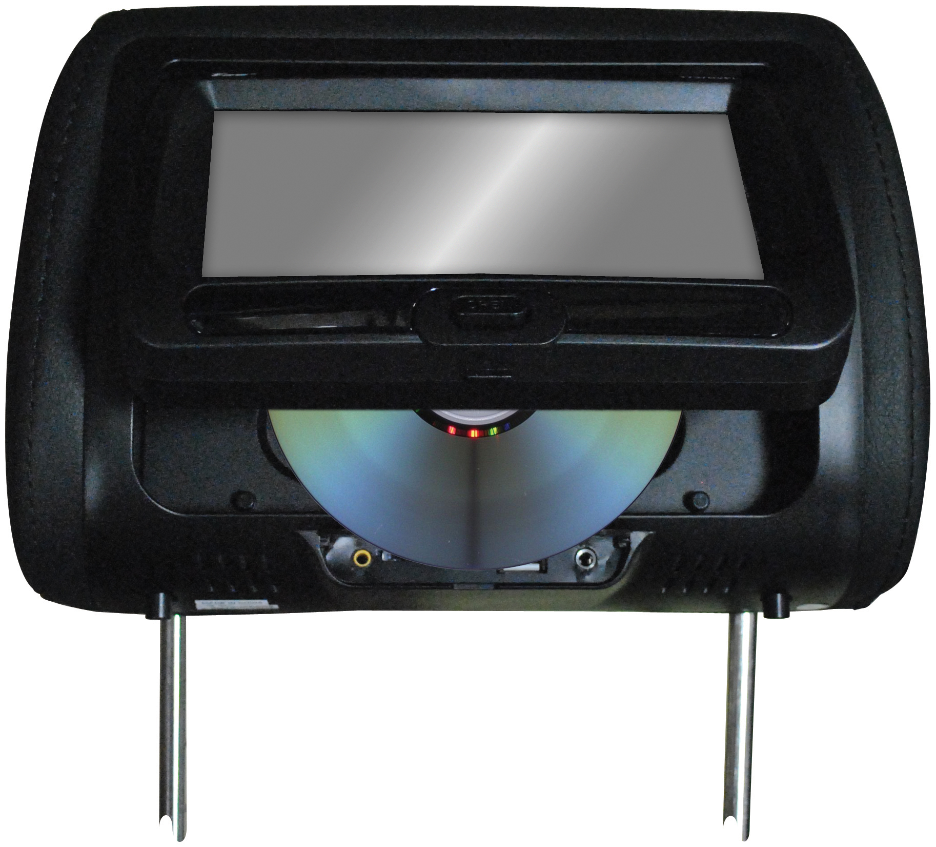 """Tview T737DVPLBK 7"""" In Headrest Monitor With Dvd Player B..."""