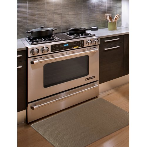 Home Fashion Designs Kingston Solid Anti-Fatigue Kitchen Mat
