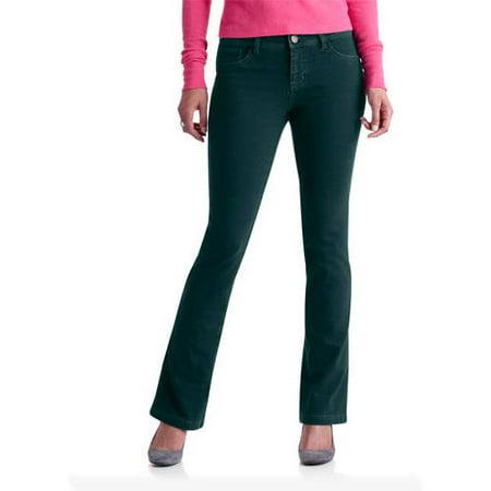 442b4e6797b65 Faded Glory - Women's Ponte Bootcut Pants - Walmart.com