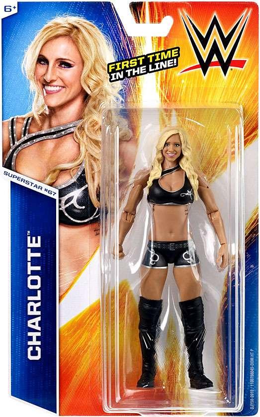 WWE Wrestling Series 55 Charlotte 6 Action Figure #67 by Mattel