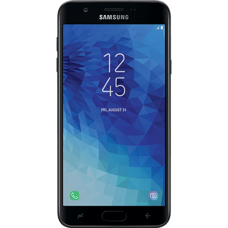 Walmart Family Mobile SAMSUNG Galaxy J7 Crown, 16GB Black - Prepaid Smartphone