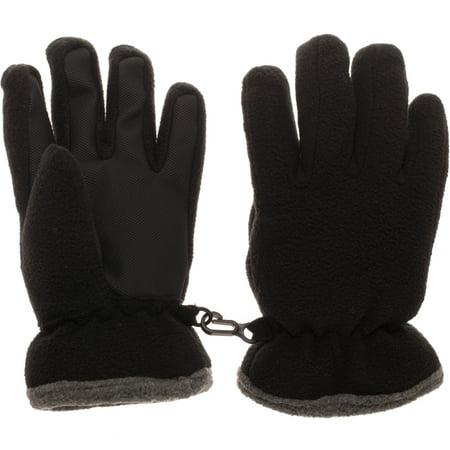 Hybrid Fleece Glove - Toddler Fleece Ski Gloves (Waterproof & Thinsulate Lining)