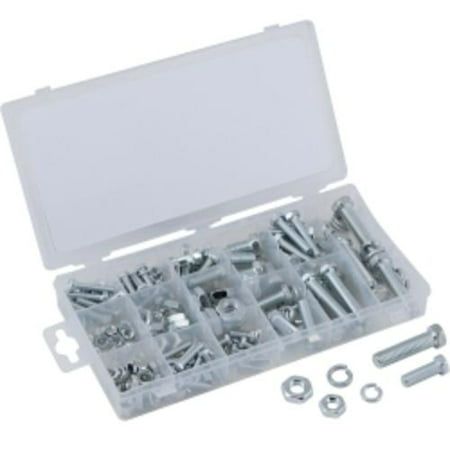 Safety Wire Bolts - Titan USS Nut And Bolt Assortment (240-pack)