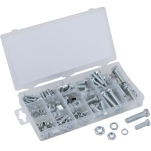 240 Pc. Uss Nut And Bolt Assortment