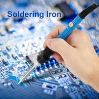 HERCHR 60W Electric Soldering Iron Adjustable Temperature Welding Hand Tool 110V, Soldering, Soldering Tool