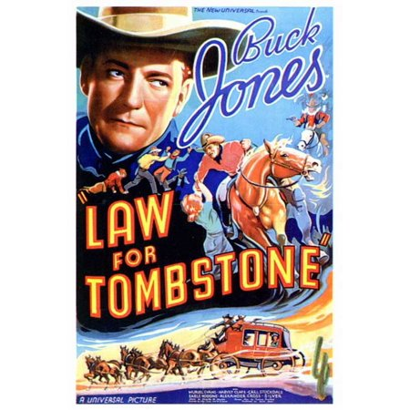 Law for Tombstone - movie POSTER (Style A) (27