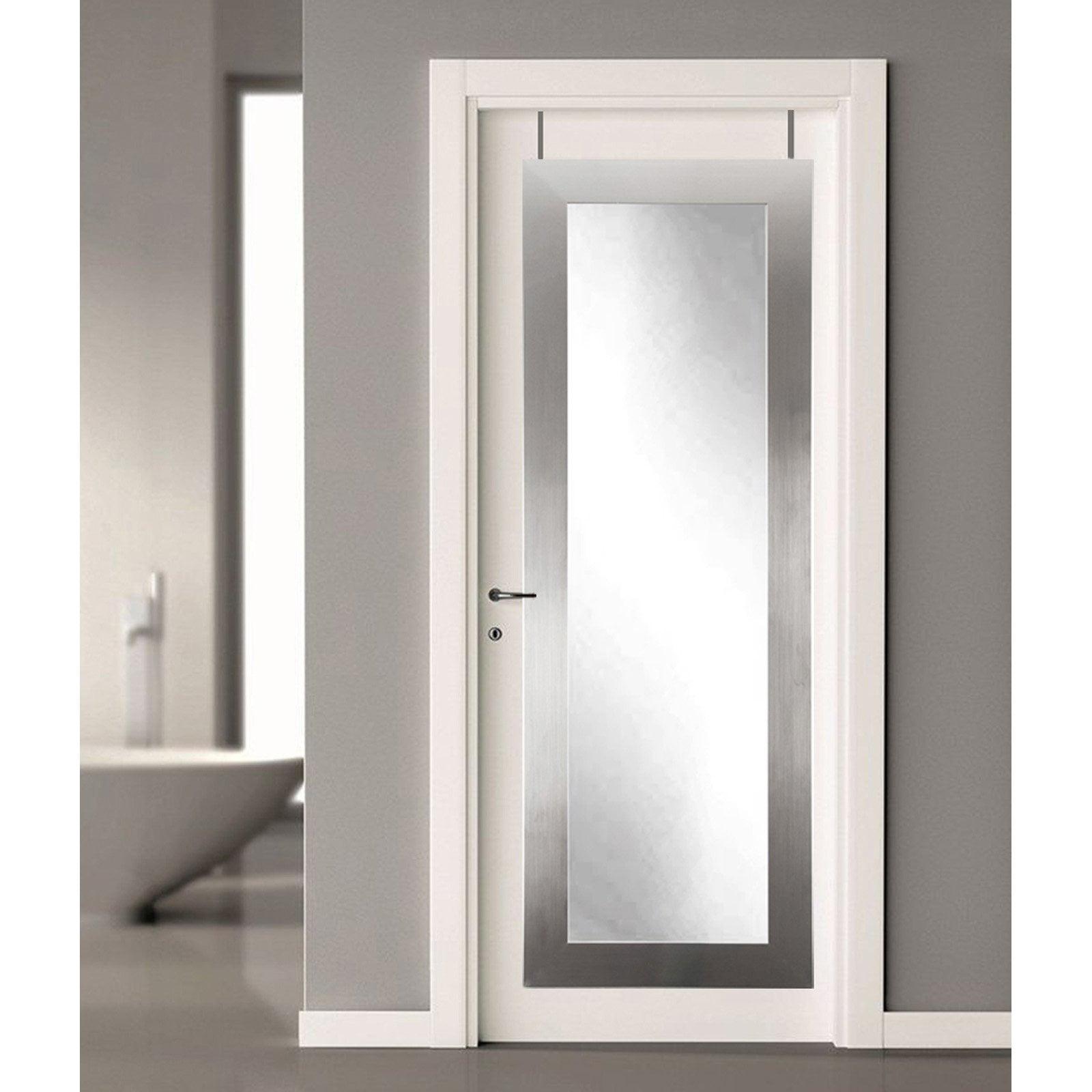 BrandtWorks Over the Door Full Length Mirror
