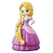Disney Bandai Gashapon Princess CapChara Heroine Doll - Rapunzel