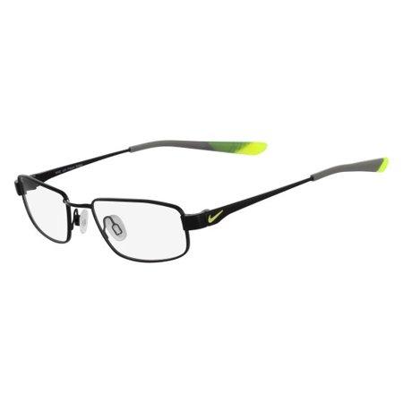 Nike NIKE 4636 Eyeglasses 003 Black/Volt Nike NIKE 4636 Eyeglasses 003 Black/Volt