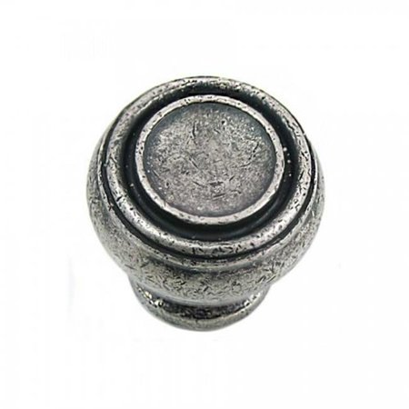 Strategic Brands 85064 1.25 in. Distressed Pewter Balance Cabinet Knob - image 1 of 1