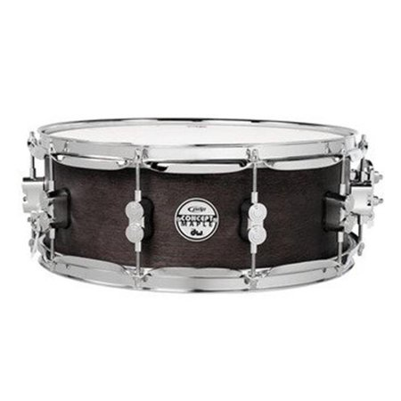 Pacific SN5513BWCR 5.5x13 Black Wax over Maple Snare Drum ()