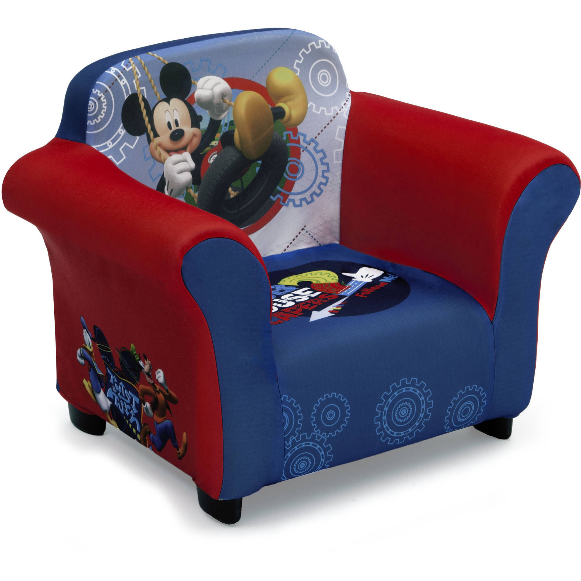 Delta Children Mickey Mouse Upholstered Chair  sc 1 st  Walmart & Mickey Mouse Chairs