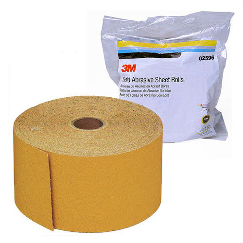 3M 2596 Stikit Gold SHeet Roll 2-3 4 in. x 45 yd. P150A by 3M COMPANY