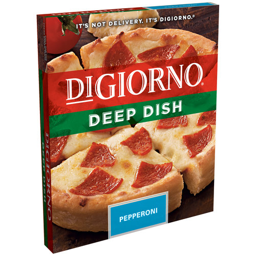 DiGiorno Deep Dish Pepperoni Pizza, 7.5 oz