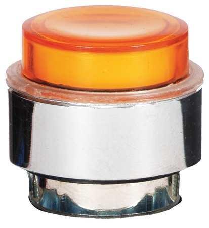 Illum Push Button Operator,22mm,Yellow DAYTON 30G137