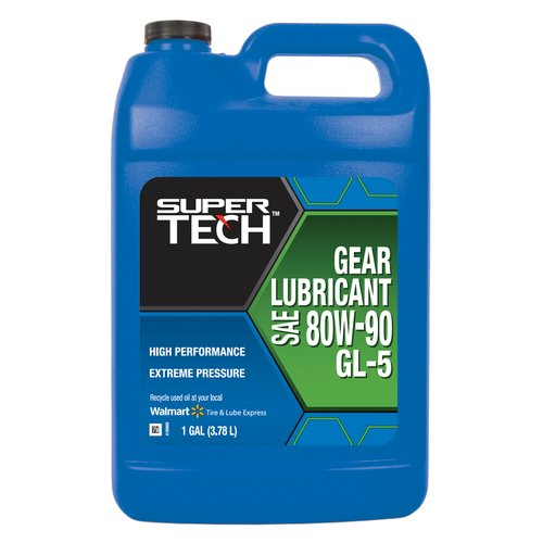 Super Tech 80W-90 High Performance Gear Oil, 1 Gallon