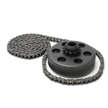 3/4'' Bore Centrifugal Clutch 12 Tooth #35 Chain Screw Part Fit Minibike Go Kart Set Mini Bike 6.5HP MATCC