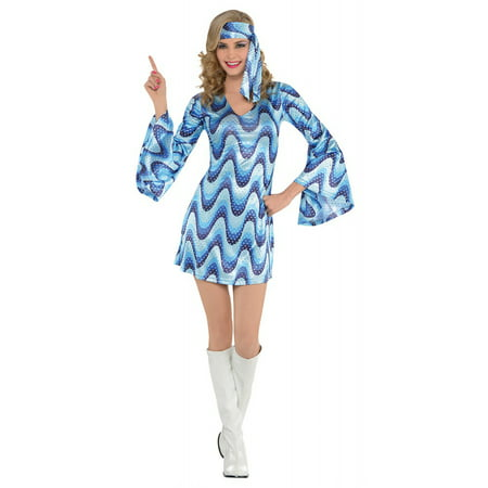 Disco Lady Adult Costume - - Seventy Costumes