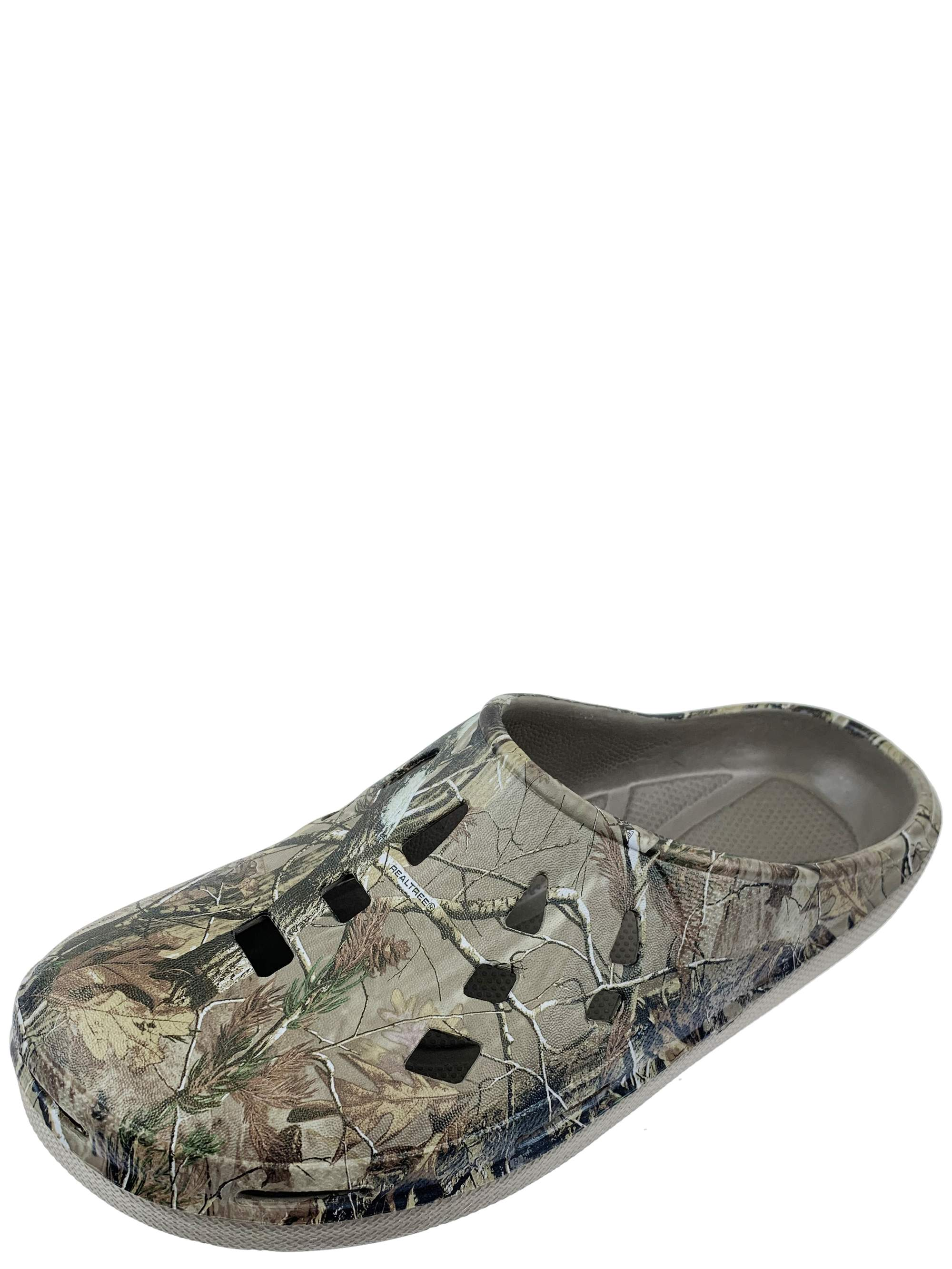 Realtree Men's Camouflage Clog Slip-on