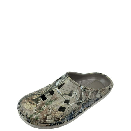 Realtree Men's Camouflage Clog Slip-on