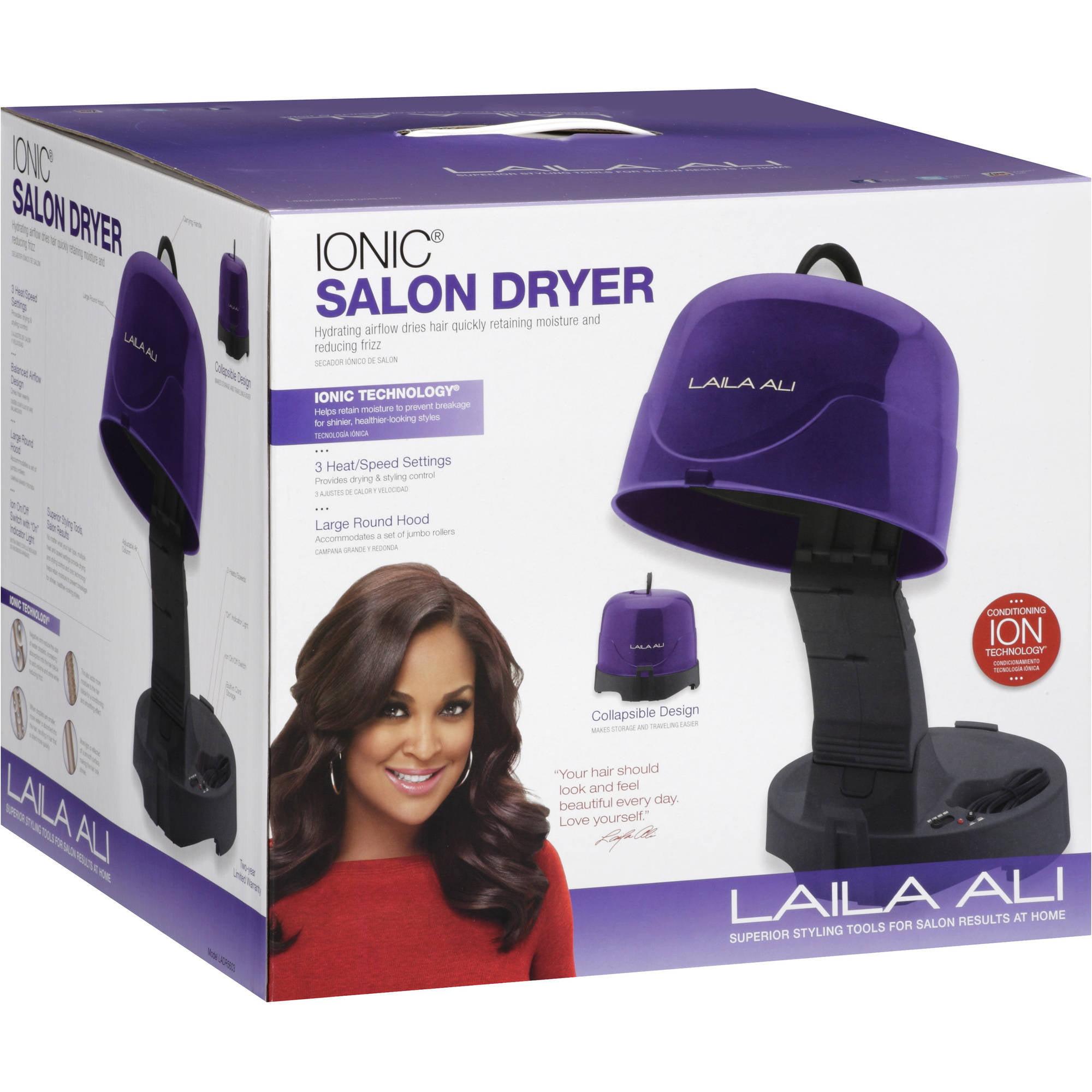 Cool Red By Kiss Salon 1875 Watt Hood Hair Dryer Walmart Com Short Hairstyles For Black Women Fulllsitofus