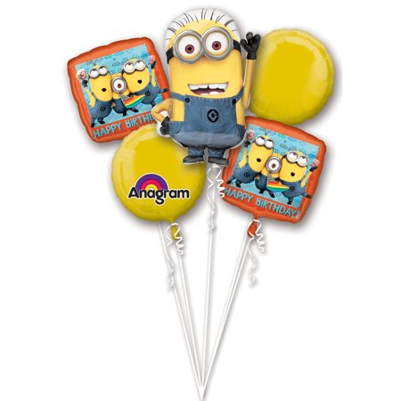 Dispicable Me Party (Despicable Me Balloon Bouquet - Party)
