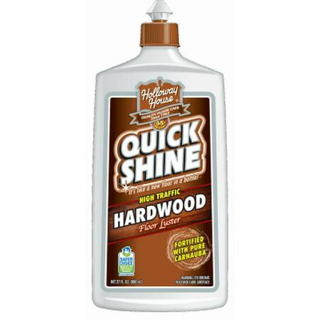 Quick Shine High Traffic Hardwood Floor Luster, 27 fl