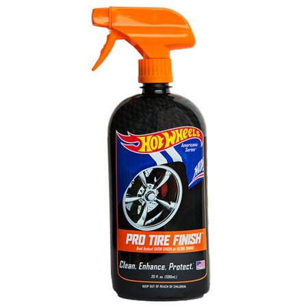 HOT WHEELS Car Care Products - Pro Tire Finish (20 oz)