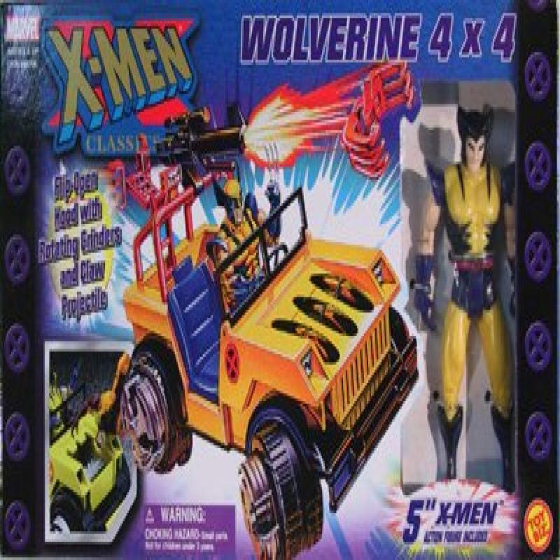 """X-Men Classics 4x4 Truck with 5"""" Wolverine Figure by"""