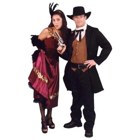 Adult Premium Western Gunslinger Costume Alexanders Costumes 18-355