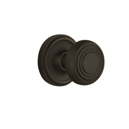 Nostalgic Warehouse Deco Door Knob with Classic Rosette